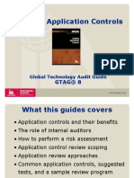 GTAG 8 Application Control Testing