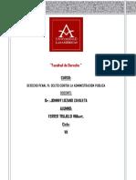 """Trabajo Cohecho-pasivo-especifico-Delitos de Corrupcion de Funcionarios"""""""