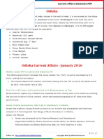 Odisha Current Affairs 2016 (Jan-Dec)by AffairsCloud