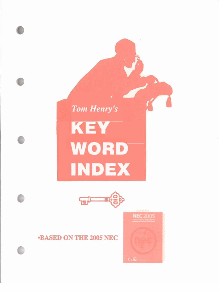 Tom henry 2005 national electrical code key word indexnfpa 70 tom henry 2005 national electrical code key word indexnfpa 70 nec electrical wiring cable greentooth Image collections