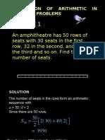 application of arithmetics