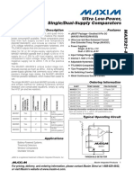 MAX923(Dual-Supply Comparators).pdf