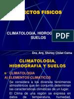 Climatología, Hidrografía y Suelos