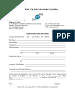 SPSI Membership Form