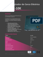 Manual Cce 10k