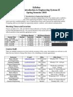 Syllabus Spring 2018