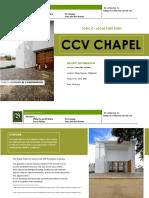 CCV Chapel - A Case Study