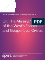 Global Brief 9 Oil the Missing Story