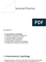 Professional Practice Chapter 1
