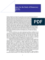 Types of Democratic Deliberation the Limits and Potential of Citizen Participation