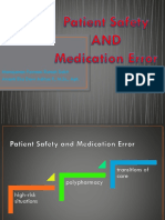 MFRS Patient Safety and Medication Error