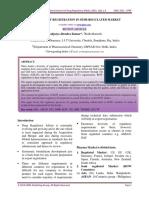 DRUG PRODUCT REGISTRATION IN SEMI-REGULATED MARKET