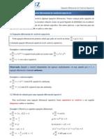 Aulas 4 e 5 - Equações Diferenciais Separáveis