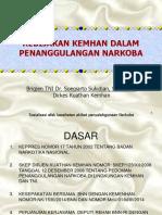 1. Kebijakan Kemhan dalam Penaggulangan Narkoba.ppt