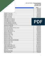 Auto Pricelist 2010 07 21