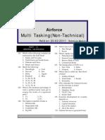 Air Force Multi Tasking Staff General Awareness(0)