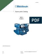 Main Engine 6m26.2 Spare Parts Catalogue