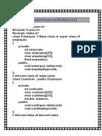 4.Inheritance Multilevel