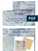 Supplies & Consumables in CSSD