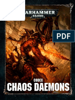 Codex Chaos Daemons 8th