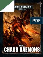 Codex Chaos Daemons 8th