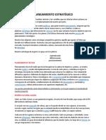 5.- PLANEAMIENTO ESTRATÉGICO