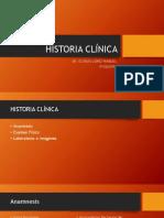 HISTORIA CLÍNICA PSIQUIATRICA