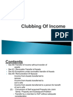 Transfer of Income Without Transfer of Assets (