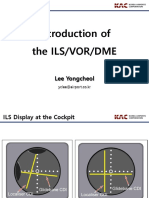 13. Introduction of the ILS,VOR,DME