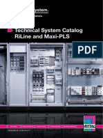 Rittal Technical System Catalog RiLine and Maxi-PLS 5 2622