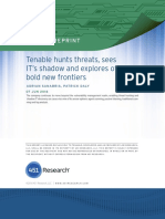 451 Impact Report - Tenable Network Security