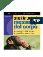Messaggi Del Corpo - Marco Pacori