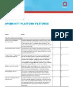 Openshift Ent vs Online Compare