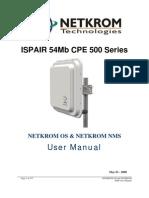 ISPAIR_54Mb_CPE_500_Manual