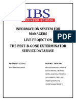 information system for management