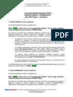1-Reporte de Actividad Volcánica, RAV Región de Arica y Parinacota Año 2014 Enero – Volumen 1.