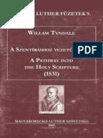 William Tyndale_A Szentíráshoz Vezető Ösvény