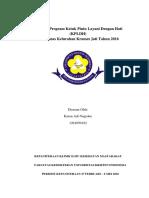Evaluasi Program Ketuk Pintu Layani Dengan Hati