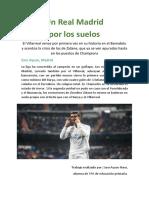 Un Real Madrid Por Los Suelos