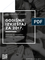GODIŠNJI IZVJEŠTAJ 2017_Udruga Za Podršku Žrtvama i Svjedocima_FINAL
