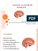 Hormones of Pituitary