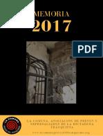 Memoria La Comuna 2017