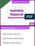 Isomeria Espacial e Óptica