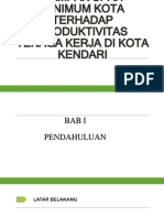 Ppt Upah Minimum