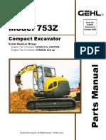153-Compact-Excavator-Parts-Manual-909826 pdf | Screw | Manufactured