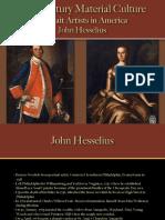 Portrait Artists - Hesselius, J.