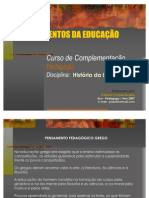 Fundamentos Da Educao Histria Da Educao 1211473322195580 9