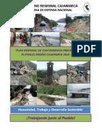 Plan Regional de Precipitaciones Pluviales - Región Cajamarca 2016-2017