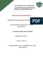 Apuntes Analisis Economico 1