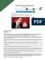 Odebrecht Negocia Mais 30 Acordos Em São Paulo - 16-01-2018 - Poder - Folha de S